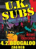 Punk rock legende U.K. Subs @ Boogaloo