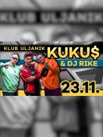Kuku$ & dj Rike live @ club Uljanik, Pula