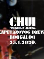CHUI // promocija albuma