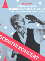 Darko Rundek - DODATNI božićni koncert (srijeda)