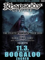 RHAPSODY OF FIRE + guests u ZAGREBU