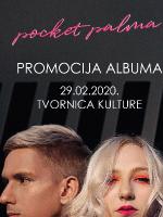 pocket palma - promocija albuma u Tvornici