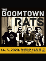 THE BOOMTOWN RATS (B. Geldof, G. Roberts, P. Briquette & S. Crowe)