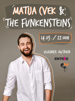 Matija Cvek & The Funkensteins LIVE!