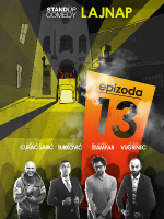 EPIZODA 13 stand-up comedy by LAJNAP