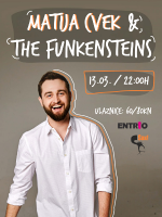 Matija Cvek & The Funkensteins  LIVE ! - Dan 2