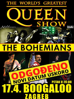 [ODGOĐENO] World's Greatest QUEEN SHOW by THE BOHEMIANS
