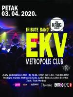 [ODGOĐENO] Koncert Krug - EKV (Ekatarina Velika) 03/04/2020