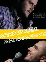 Stand up večer bosanskog humora @CeKaTe