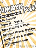 Summer Point: PAKET 2 @hala trg (08.07. - 11.07.)