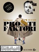 Vis: PROSTI FAKTORI, STAND UP COMEDY SHOW BY MARKO DEJANOVIĆ (BIH)