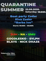 QUARANTINE SUMMER 2020 boat party - Powered by LuMikarta