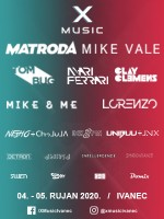 X music - festival elektronske glazbe 04. i 05.09.2020.