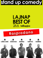 LAJNAP BEST OF - OPEN AIR stand-up comedy show