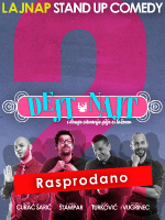 DEJTNAJT 2 by LAJNAP - PREMIJERA - Stand-up comedy show