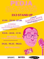 Pedja Bajović 3x3 stand up - S nogu