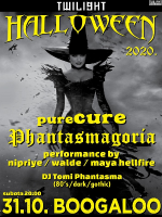 Twilight Halloween 2020 / Phantasmagoria + pureCURE