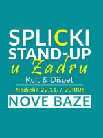 Splicki stand-up u Zadru: Nove baze!