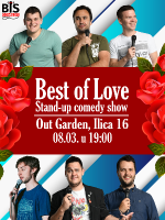 BIS comedy na Dan žena: Best of LOVE stand up show