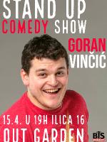 Stand up comedy: Goran Vinčić - one man show