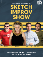 DUGA RESA Sketch Improv Show - Zuhra, Tin, Vinča i Marko