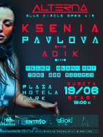 I Blue Circle Open Air I w/ Ksenia Pavlova (UKR)