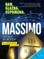 Massimo Savić - u perivoju Novih dvora bana Jelačića, Zaprešić