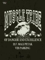Muscle Tribe of Danger and Excellence - VIB parking