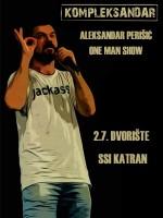 Kompleksandar - Aleksandar Perišić one man show @ dvorište SSI Katran