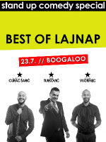 BEST OF LAJNAP - OPEN AIR stand-up comedy special