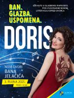 Doris Dragović - u perivoju Novih dvora bana Jelačića, Zaprešić