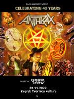 Anthrax + Municipal Waste u Zagrebu