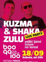 Kuzma & Shaka Zulu @ Boogaloo Terrace