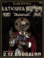 BATUSHKA + BELPHEGOR  02.12.2021. Boogaloo, Zagreb