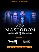 Mastodon u Zagrebu (predgrupe Kvelertak i Baroness)